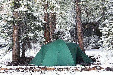 Winter camping in Yosemite National Park. #YosemiteCamping ...