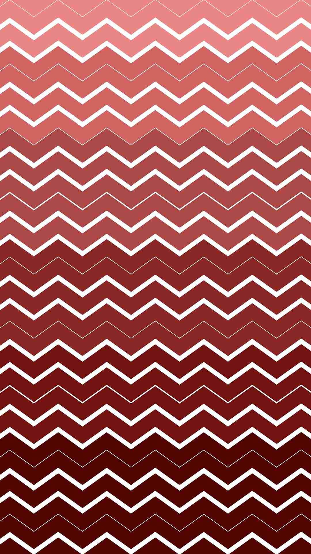 Iphone wallpapers tumblr chevron - Chevron And Zigzag Pattern Iphone 6 Plus Wallpaper Ombre Red And White Iphone
