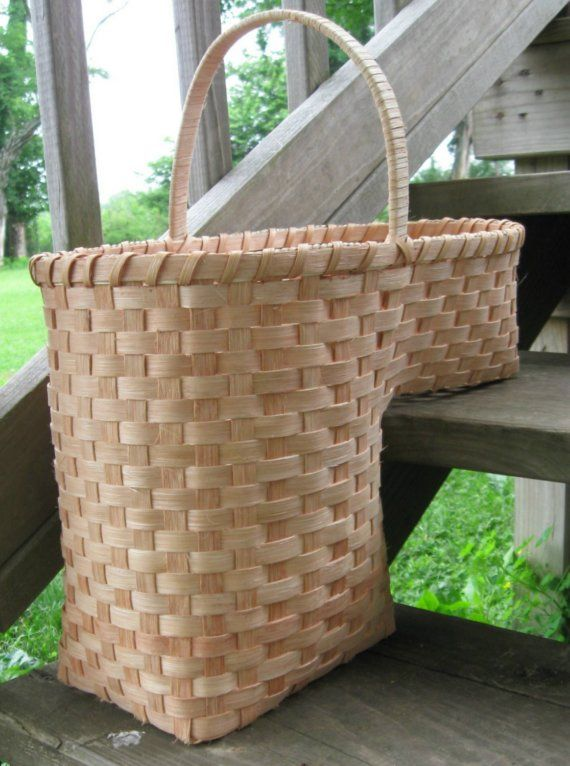 Genial SALE Hand Woven Stair Step Basket By CustomCoffey On Etsy, $80.00