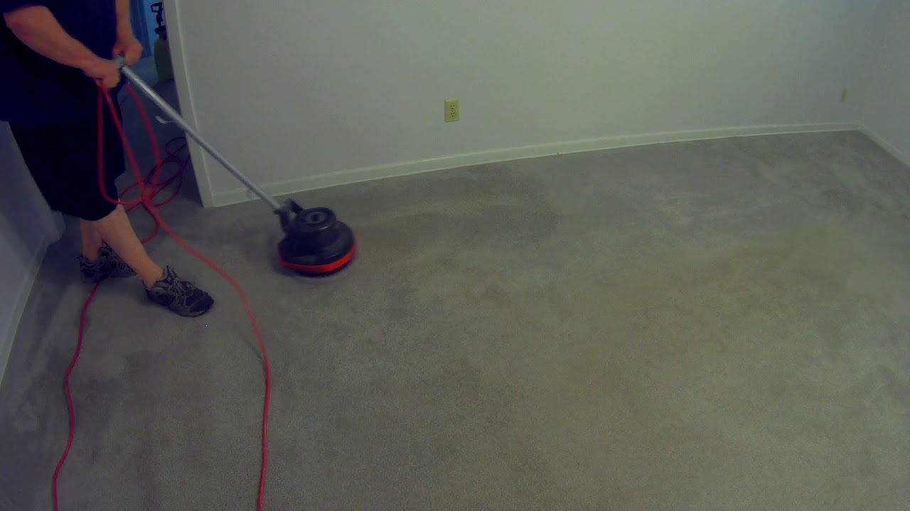 Cleaning Carpet In A House With Oreck Orbiter Part 1 How