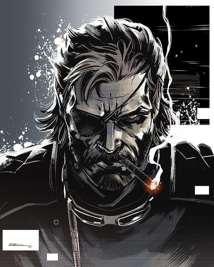 2 776 Likes 14 Comments Metal Gear Stranding Xgeranamox On Instagram Mgsv صورة جديدة للحس Big Boss Metal Gear Snake Metal Gear Metal Gear V