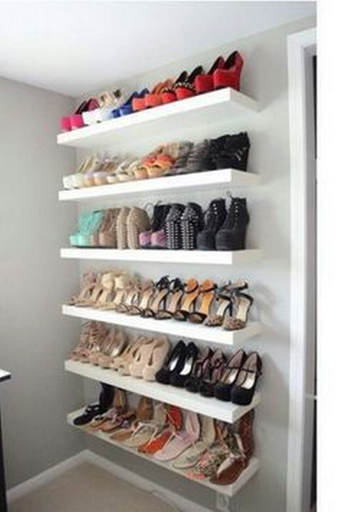 Practical Shoes Rack Design Ideas For Small Homes Organization