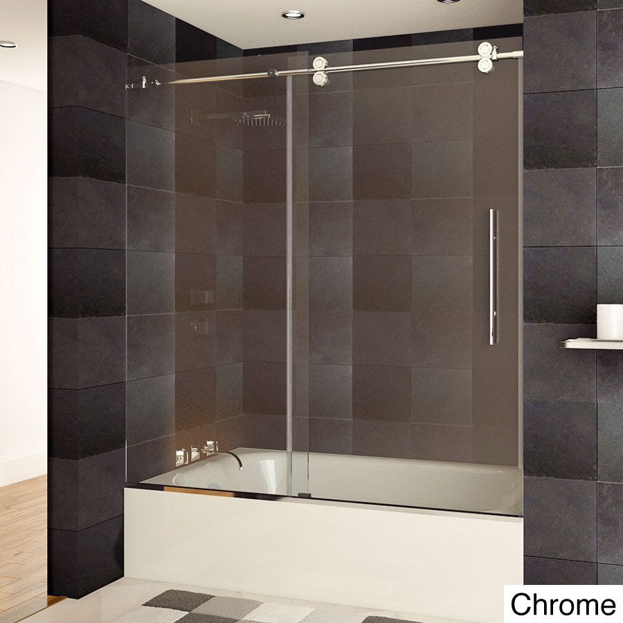 This Lesscare Ultra B Frameless Bathtub Shower Door Is Made Of High