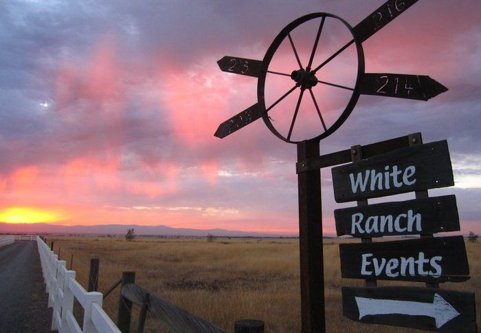 white ranch