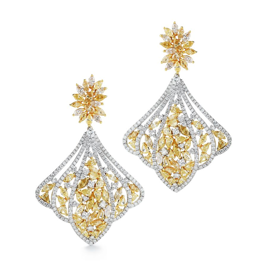 High Quality Diamond Earring Collection From Takat