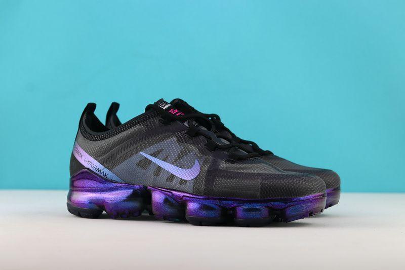 bd6cb6aa7ca84 Nike Air VaporMax 2019 Mens Sneaker AR6631-001 Online Black Navy Blue