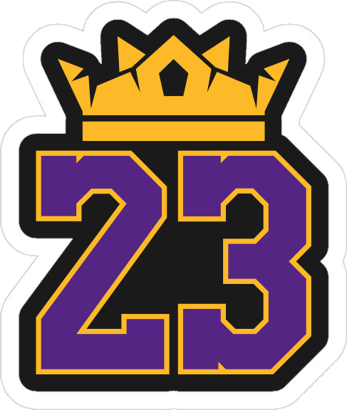 Lebron James SvG File, LA Lakers SVG File, NBA Lebron 23