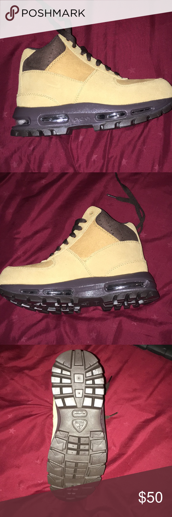 ACG Nike suede boots for youth Suede