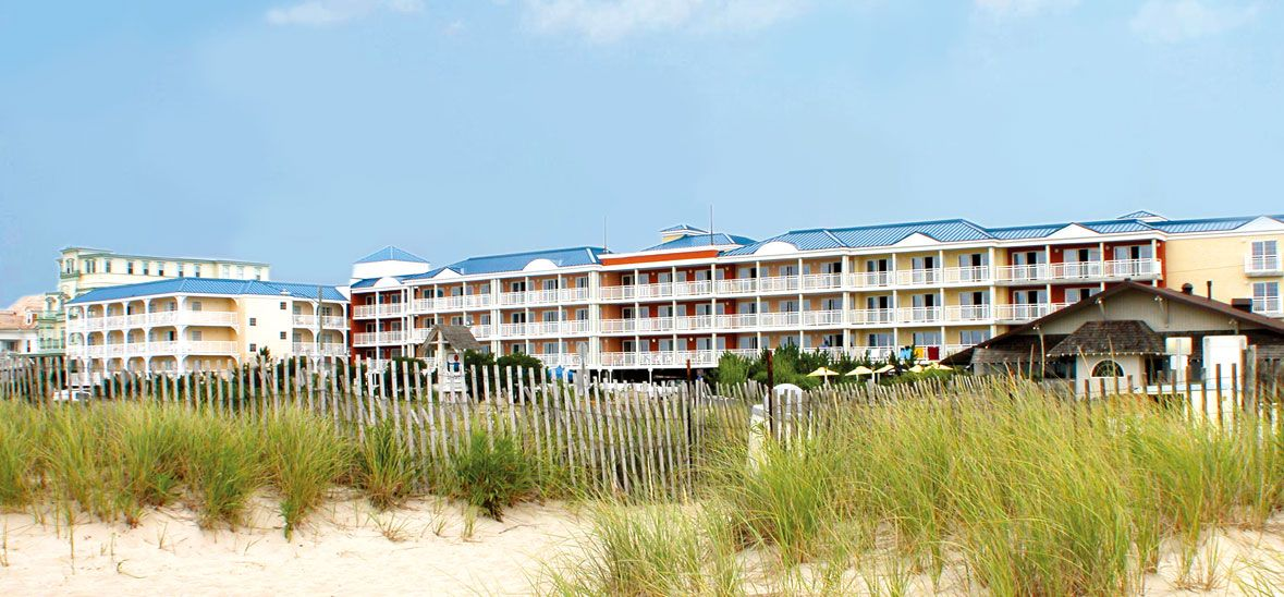 Retreat To A Quiet Corner Of Cape May At La Mer Beachfront Inn Enjoy The
