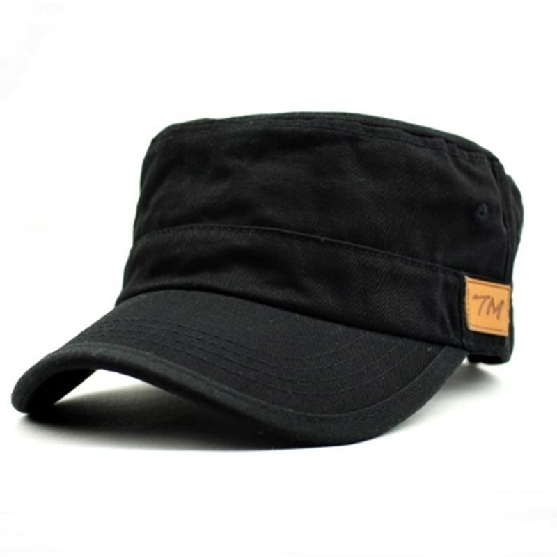 Uk Seller Big Size Xl Xxl Mens Military Cadet Caps Hats Leather Applique B View More On The Link Http Www Zeppy Io Pr Hats For Men Caps Hats Leather