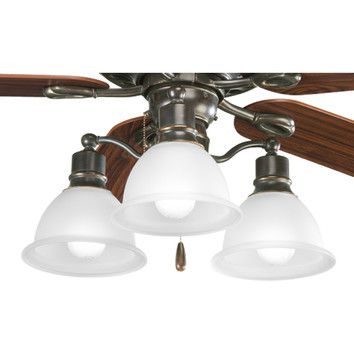 Shop Wayfair For Ceiling Fan Light Kits To Match Every Style And