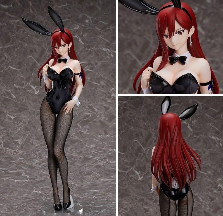 Fairy Tail: 1/4 Erza Scarlet Bunny Ver. Figure