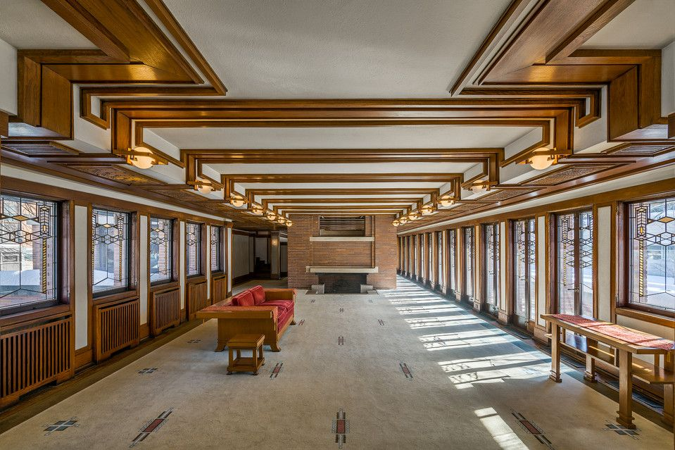 Frank Lloyd Wright S Robie House Where Family Life Met