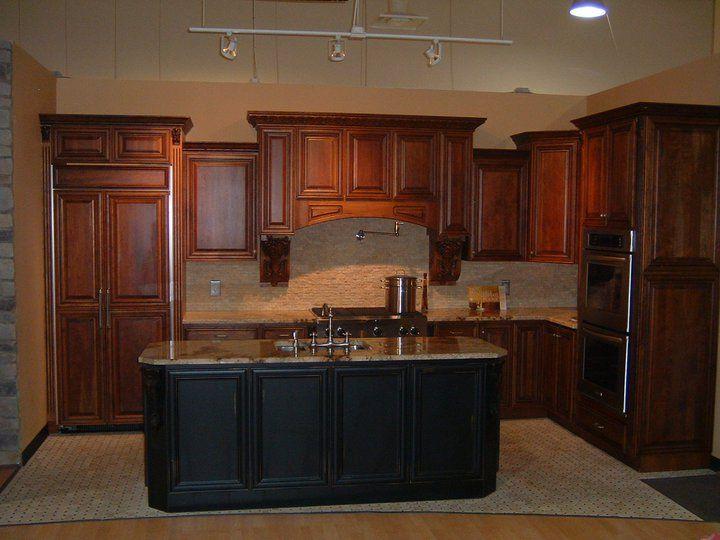 Brookwood Kitchen Cabinet Vignette   DirectBuy of Cleveland ...
