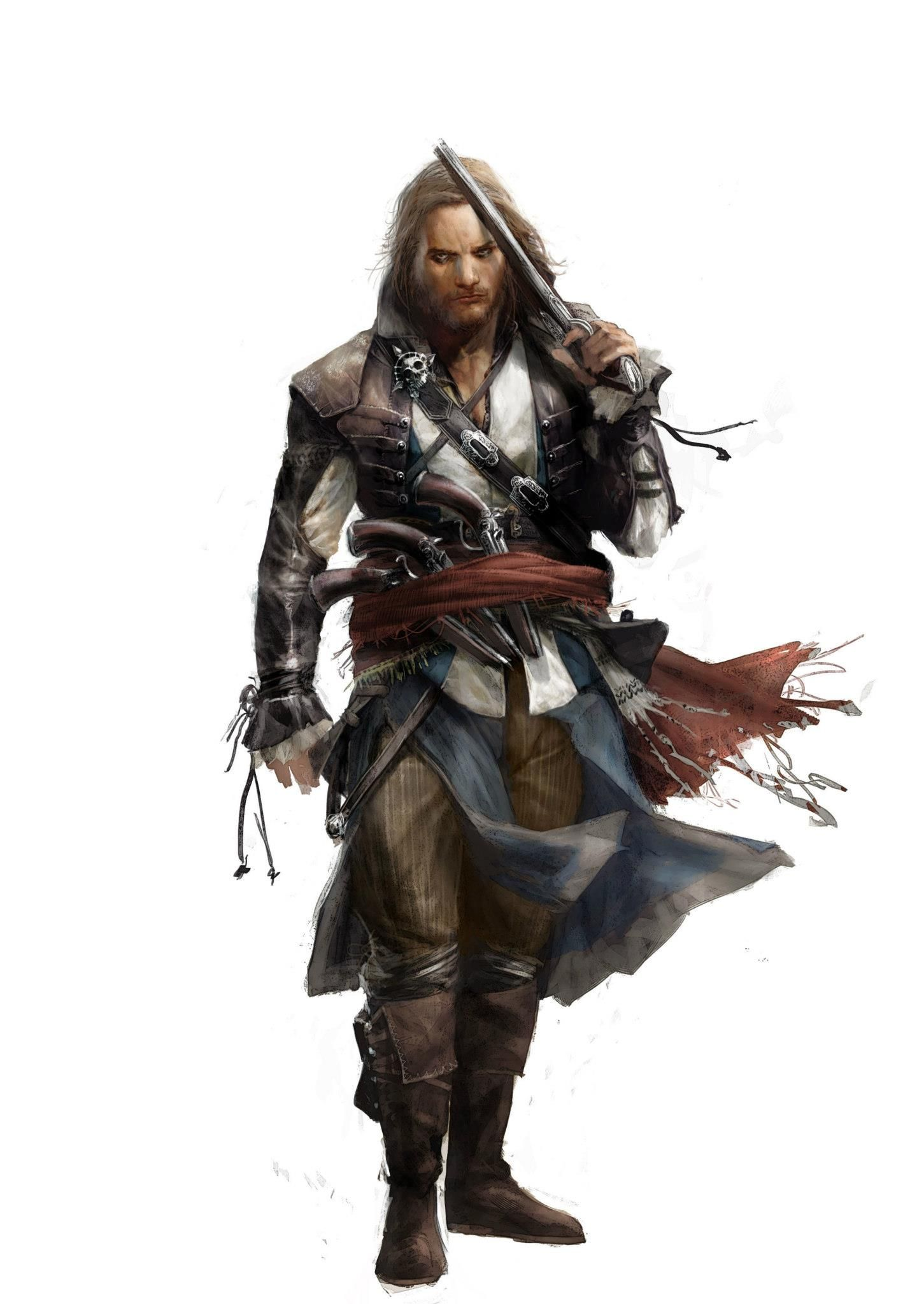 Captain Edward Kenway Assassins Creed Art Assassins Creed Black Flag Assassins Creed 4