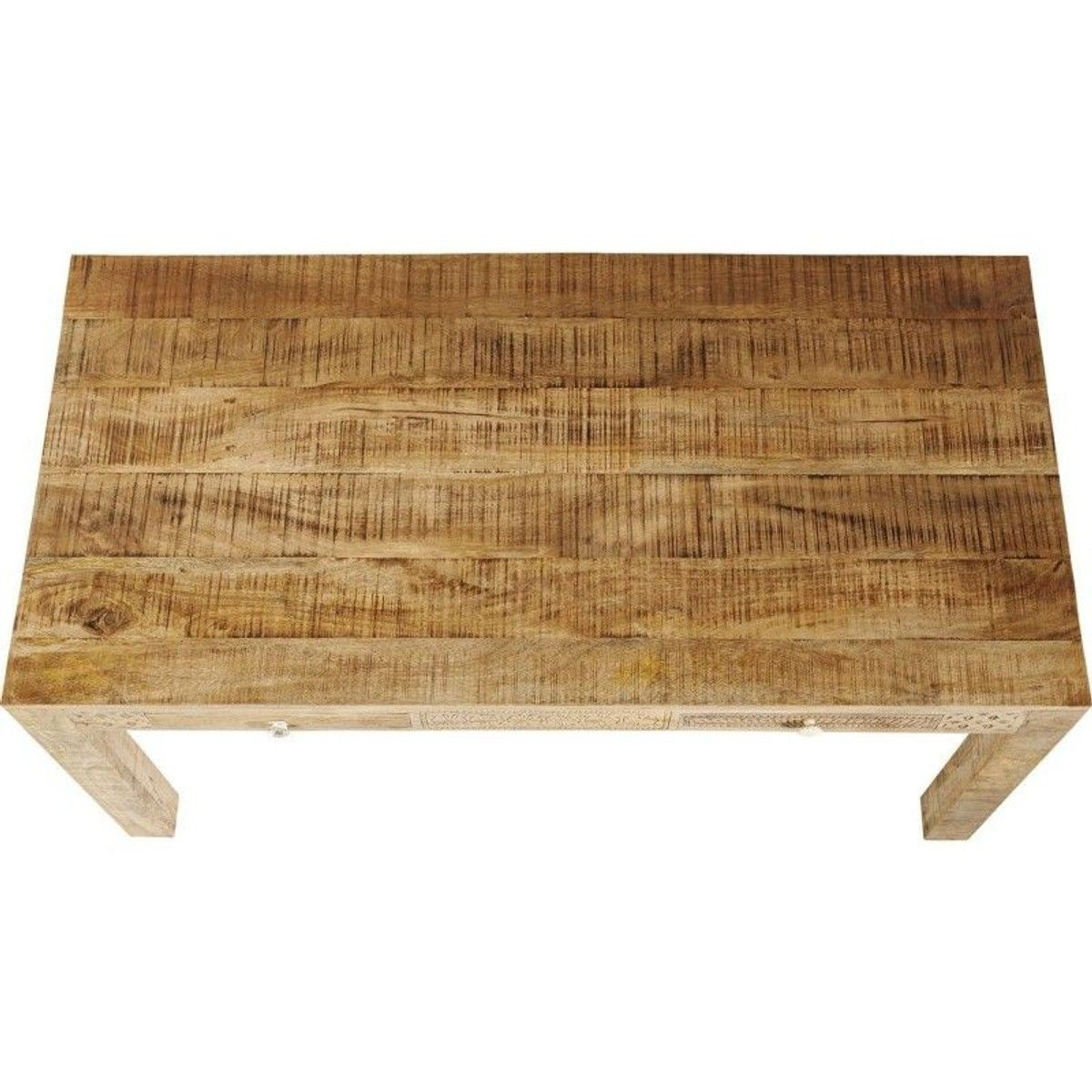 Table Puro Plain 160x80cm Taille 6 Pers Bougeoirs Bois