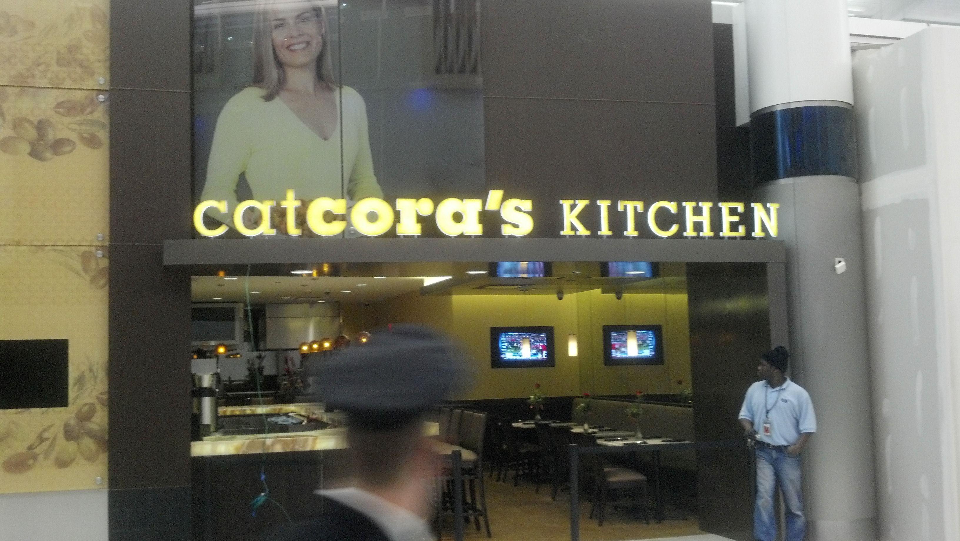 Cat Cora Bush International Airport bush