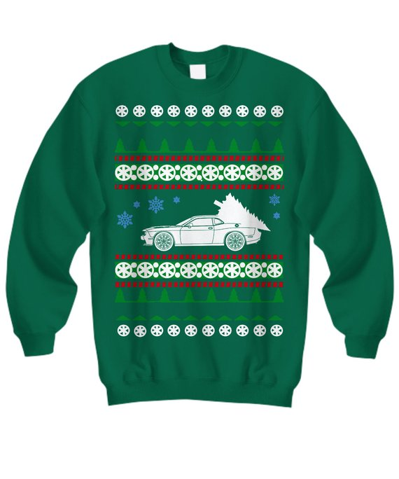 Dodge Challenger Hellcat Demon SRT Ugly Christmas Sweater Holiday boost  racecar boosted fast cars e 7c715aae0