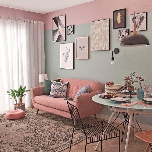 Photo of Salas de estar e jantar integradas: 20 fotos para você se inspirar na decoração – Casinha Arrumada