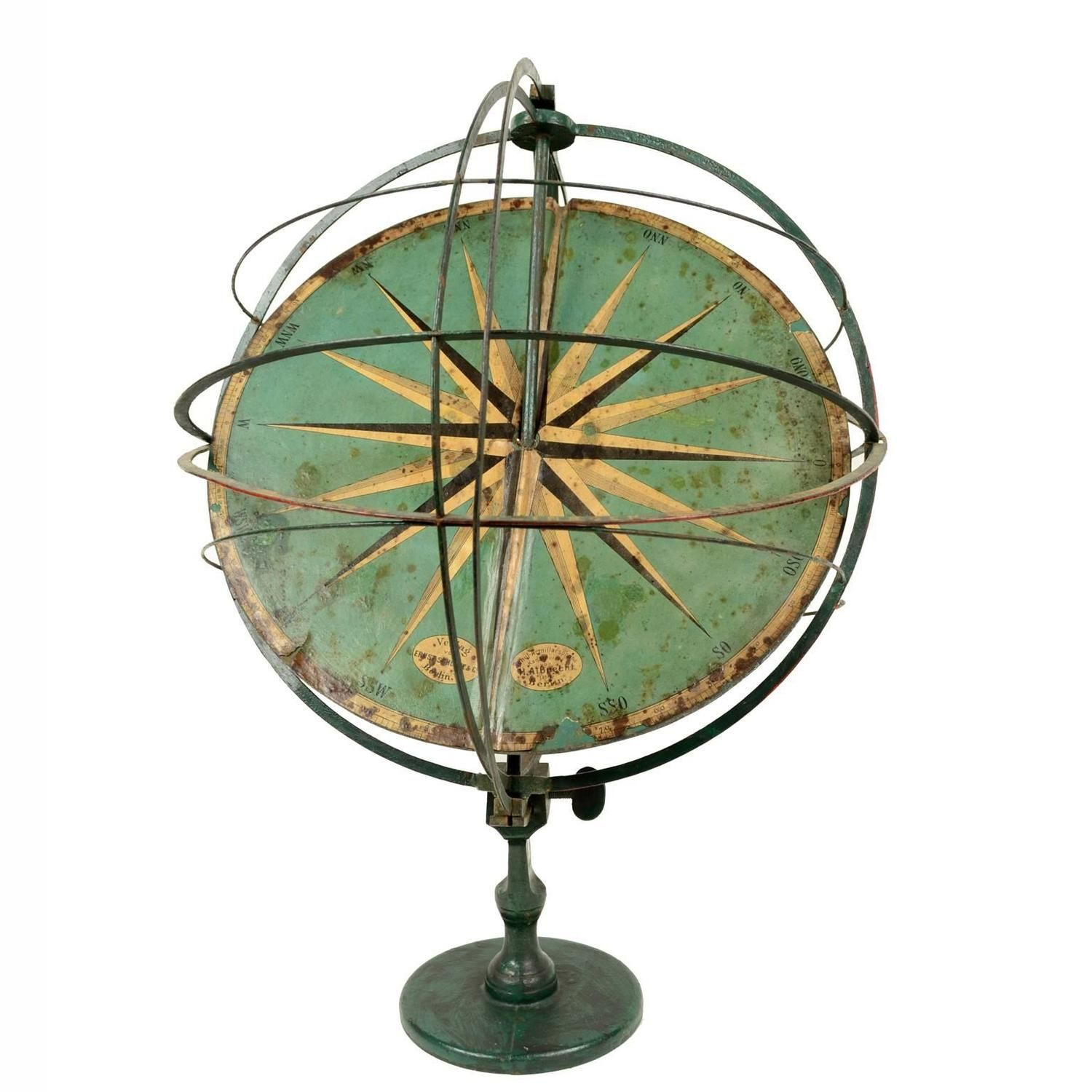 Armillary Sphere by Ernst Schotte & Co. Berlin 1800