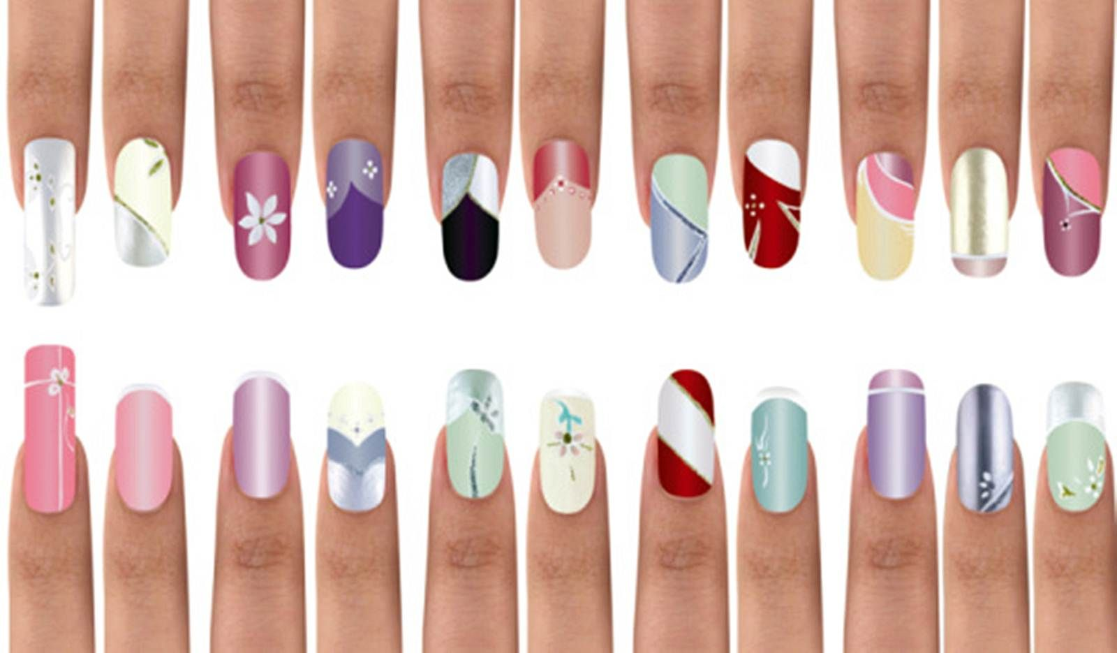 Easy nail designs for beginners at home step by step Nail Art ...