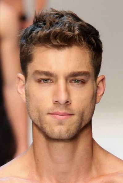 Hot Male Model With Short Hair Michael Hair Pinterest Curly