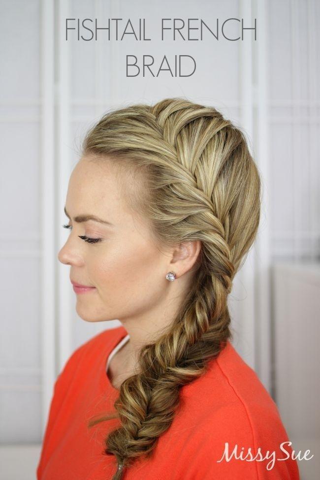 Pleasant 10 French Braid Hairstyles For Long Hair Short Hairstyles Gunalazisus