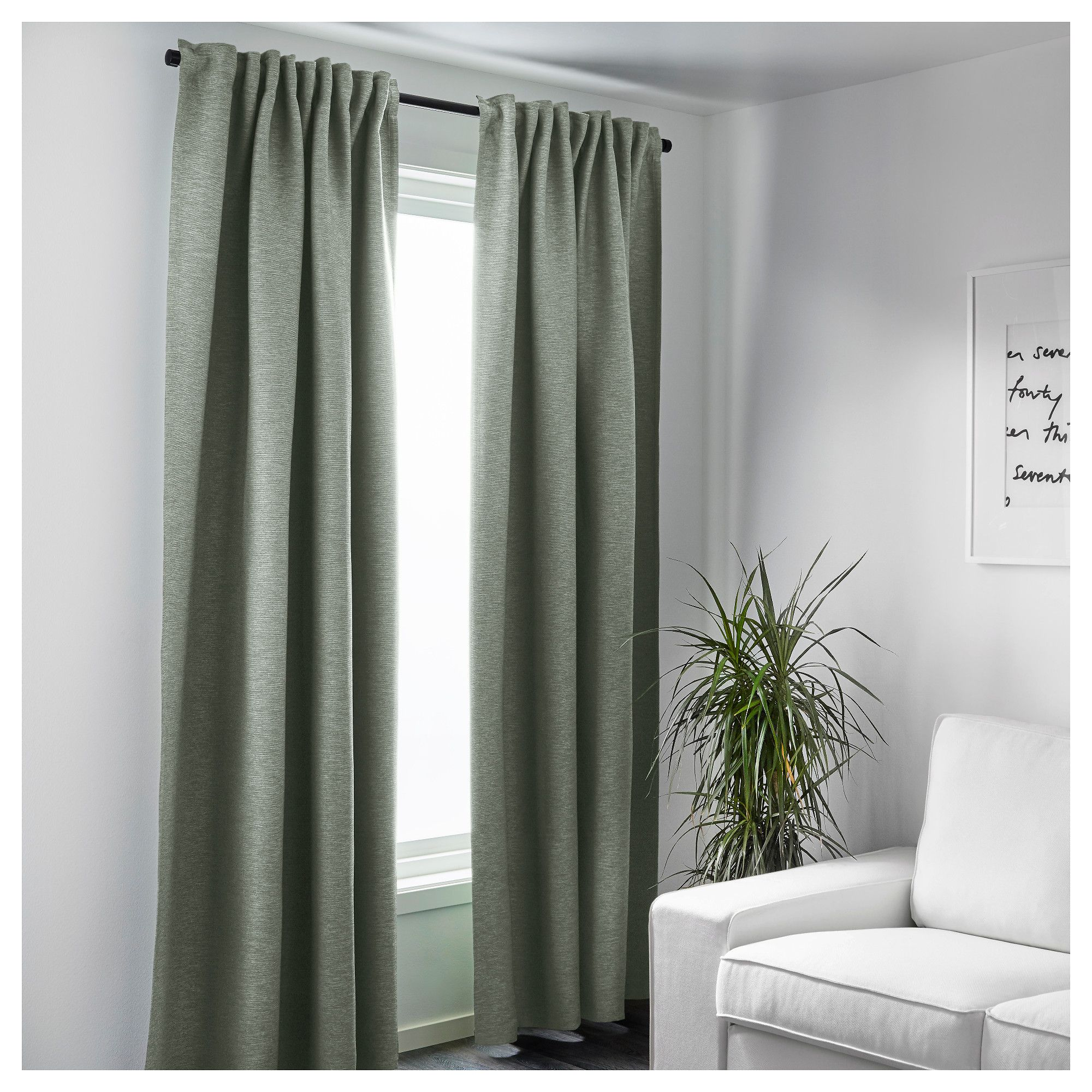 Ikea Jaloezieen Ikea Vilborg Curtains 1 Pair The Curtains Can Be Used On A