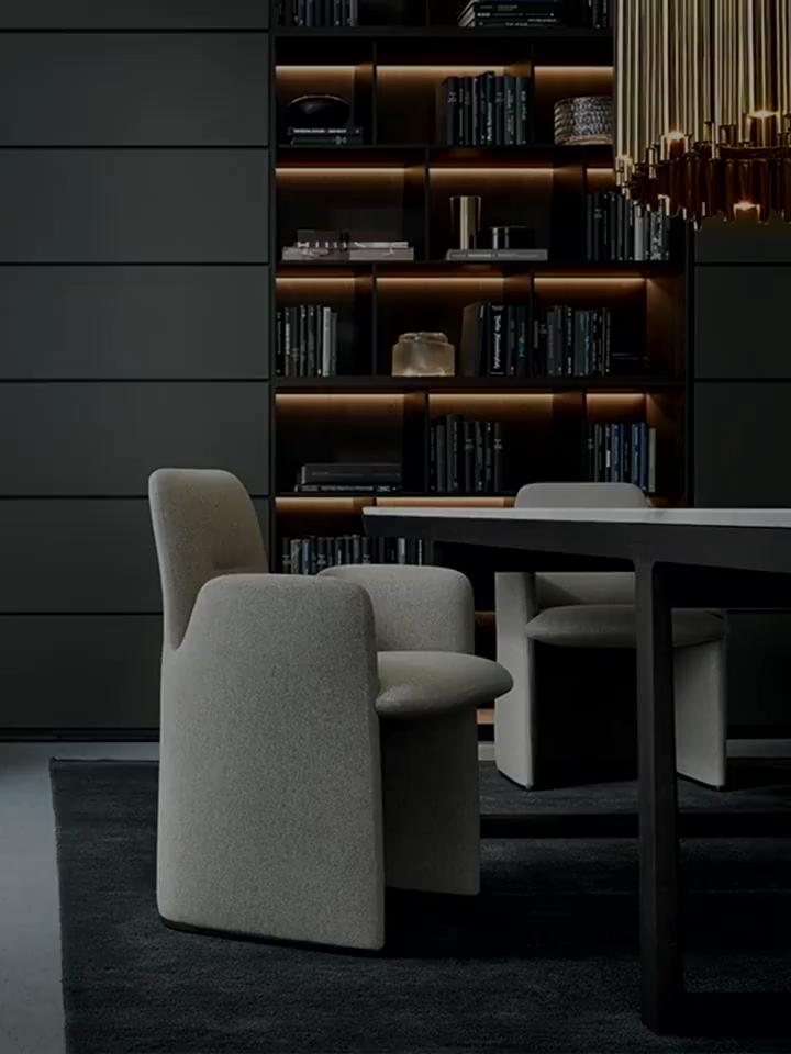 Photo of Poltrona moderna in pelle di design in velluto