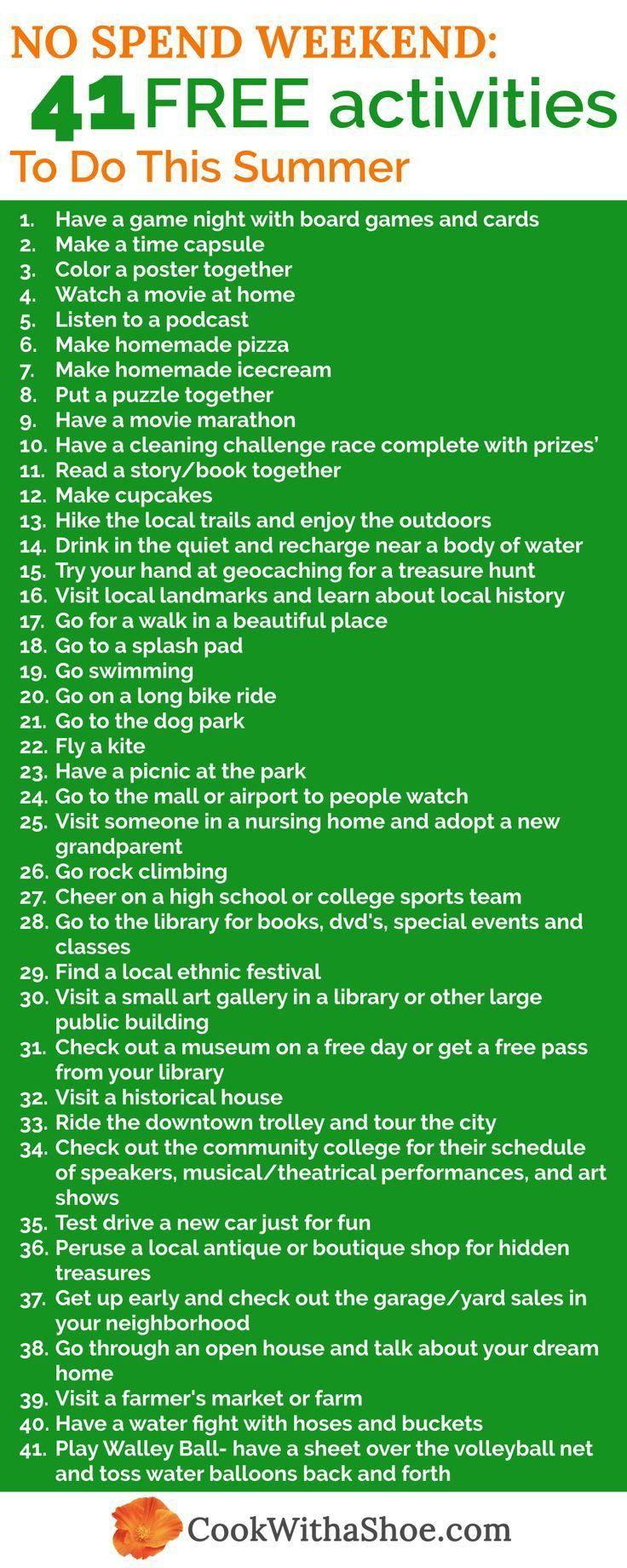 Photo of 41 Kostenlose oder günstige Aktivitäten am Wochenende – #cheap #free #Weekend – #cheap #F …