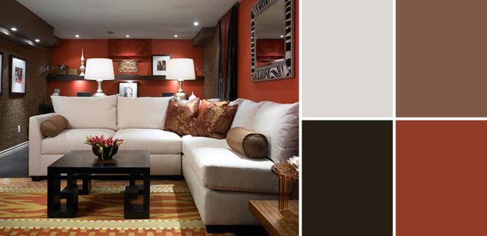 a palette guide to basement paint colors basement paint on basement color palette ideas id=16837