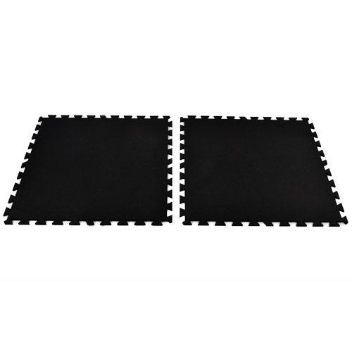 Geneva Rubber Tile 8 mm Black Rubber Gym Flooring Pinterest