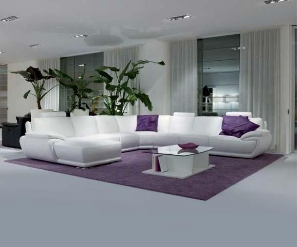 Salon château d\'ax | Aménagement intérieur | Salon blanc ...