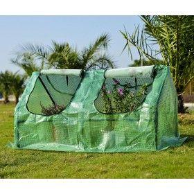 Invernadero Caseta De Tubo Acero Y Plastico Jardin Terraza