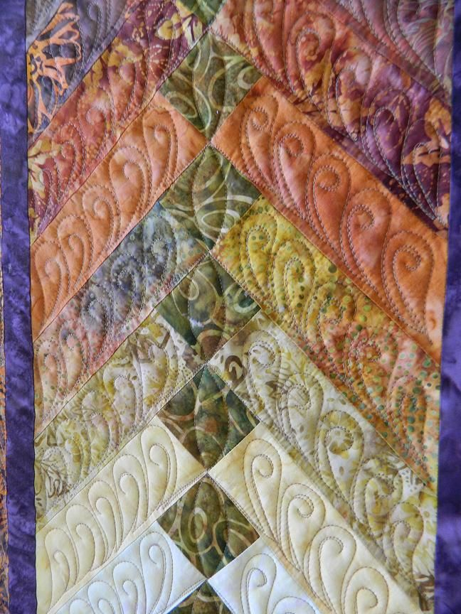 French Braid Quilting By Becky In Montana At Quilting