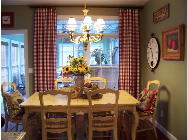 20 Country French Inspired Dining Room Ideas  Country French Classy The Dining Rooms Design Decoration