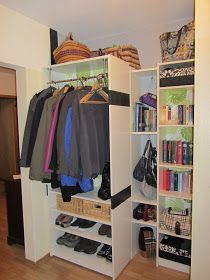 pimp your billy regal garderobe schuhregal hacks hacking ikea flur pinterest billy regal. Black Bedroom Furniture Sets. Home Design Ideas