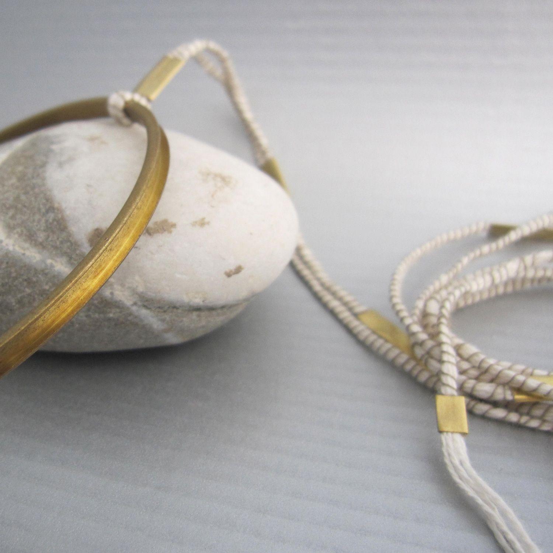 From IAMTHELAB.com: Anellide Occhio Solcato Necklace + Bracelet   #Bracelet #Necklace