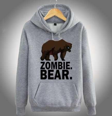 Httpswwwsweatshirtxycomz Nation Hoodie For Men Zombie Bear