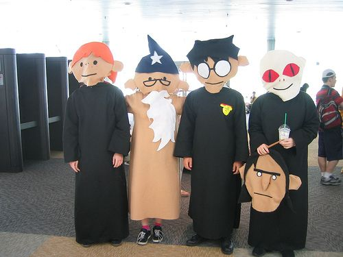 Flickriver Kickintheheadcomic S Photos Tagged With Cosplay Harry Potter Puppet Pals Potter Puppet Pals Harry Potter Cosplay