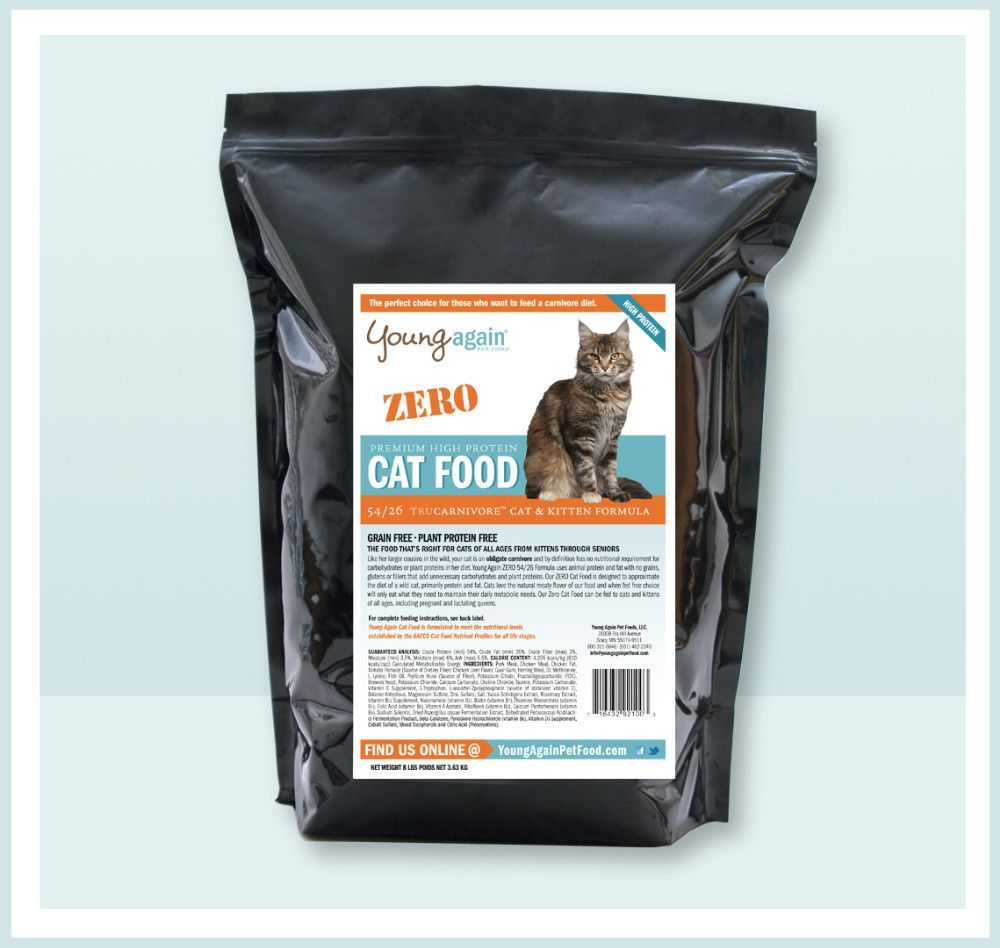 Best grainfree and lowcarb dry food brands for cats