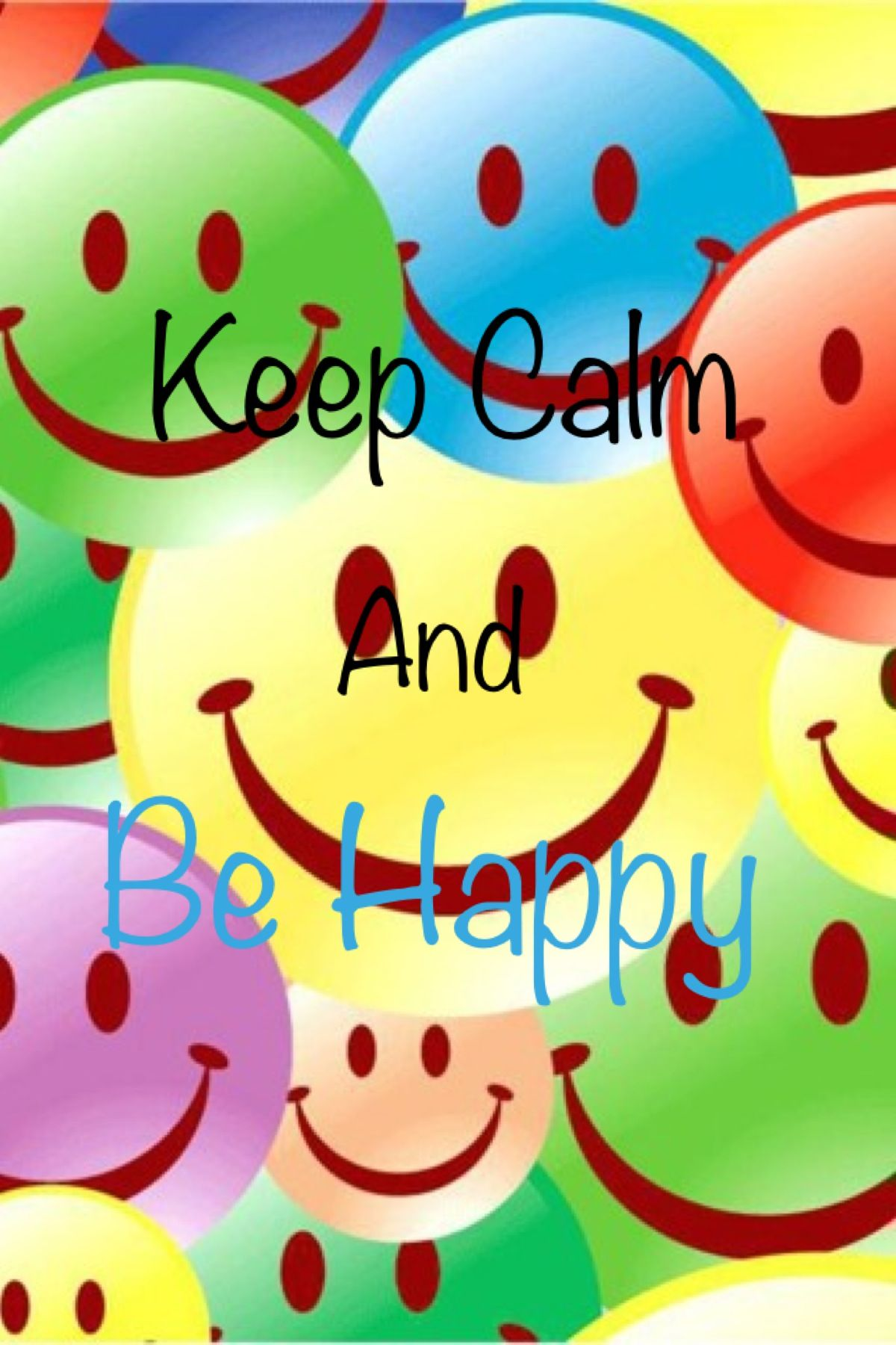 Keep calm Smiley, Happy smile, Just smile