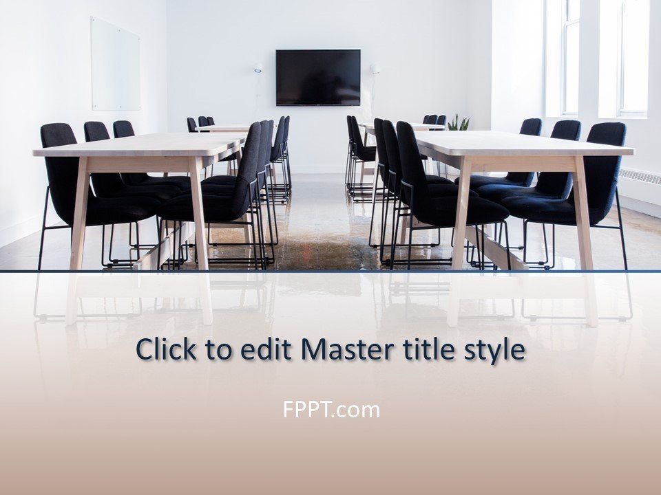 Coworking Space PowerPoint (PPT)Template Powerpoint