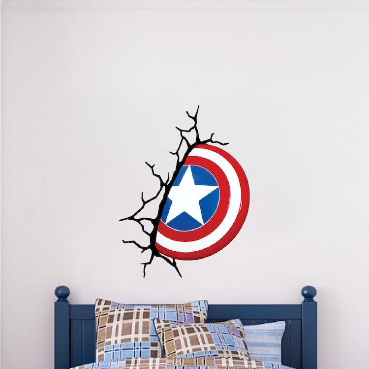 Avengers Superhero Wall Decal Sticker Mural Poster Print Art Etsy In 2020 Superhero Wall Decals Superhero Wall Art Superhero Wall