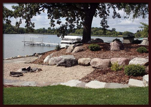 lakeside landscaping. bring