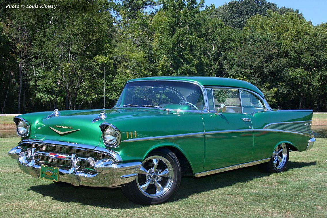 1957 Chevy Bel Air Sport Coupe