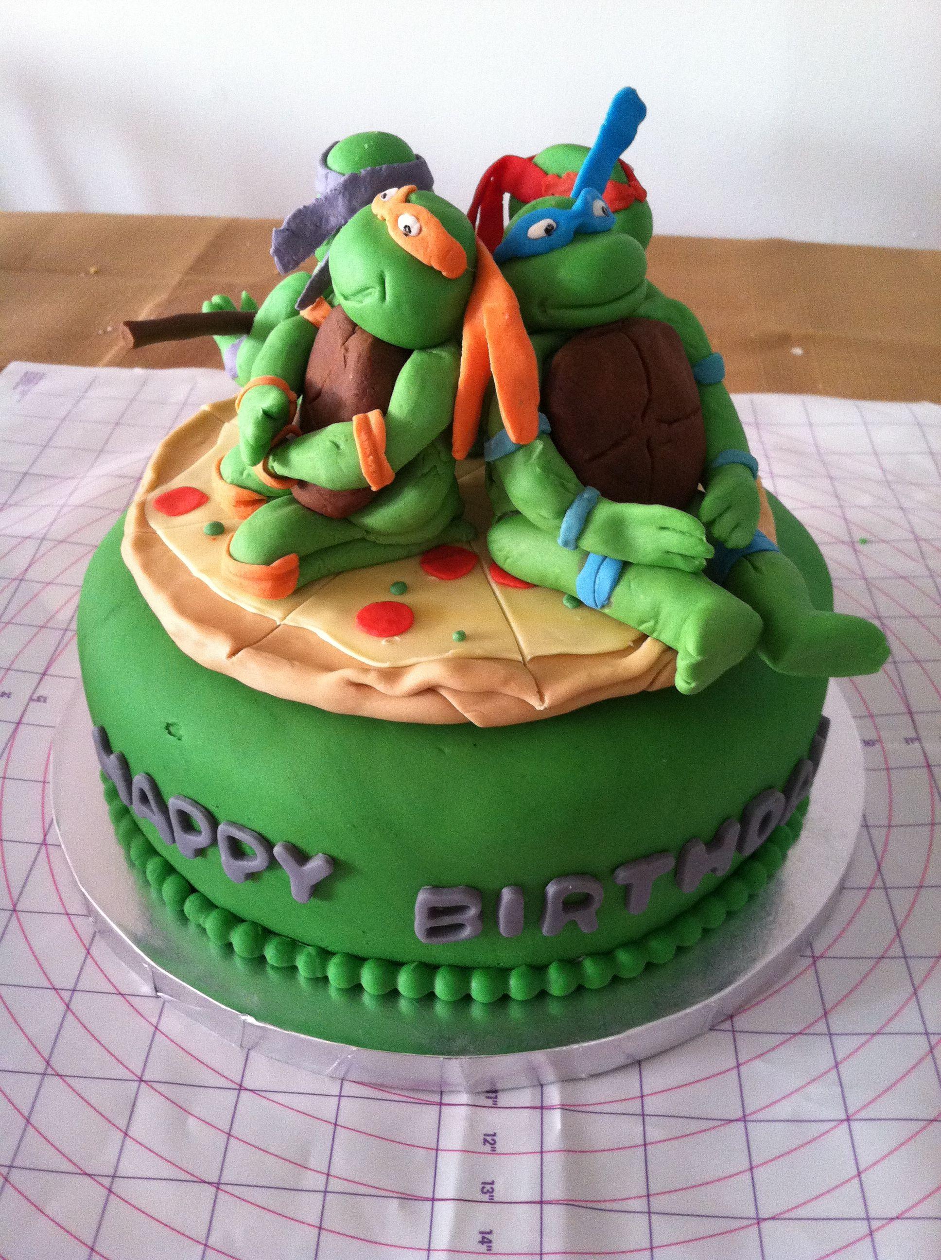 Ninja Turtles cake | Cakes I've made =) | Pinterest ...