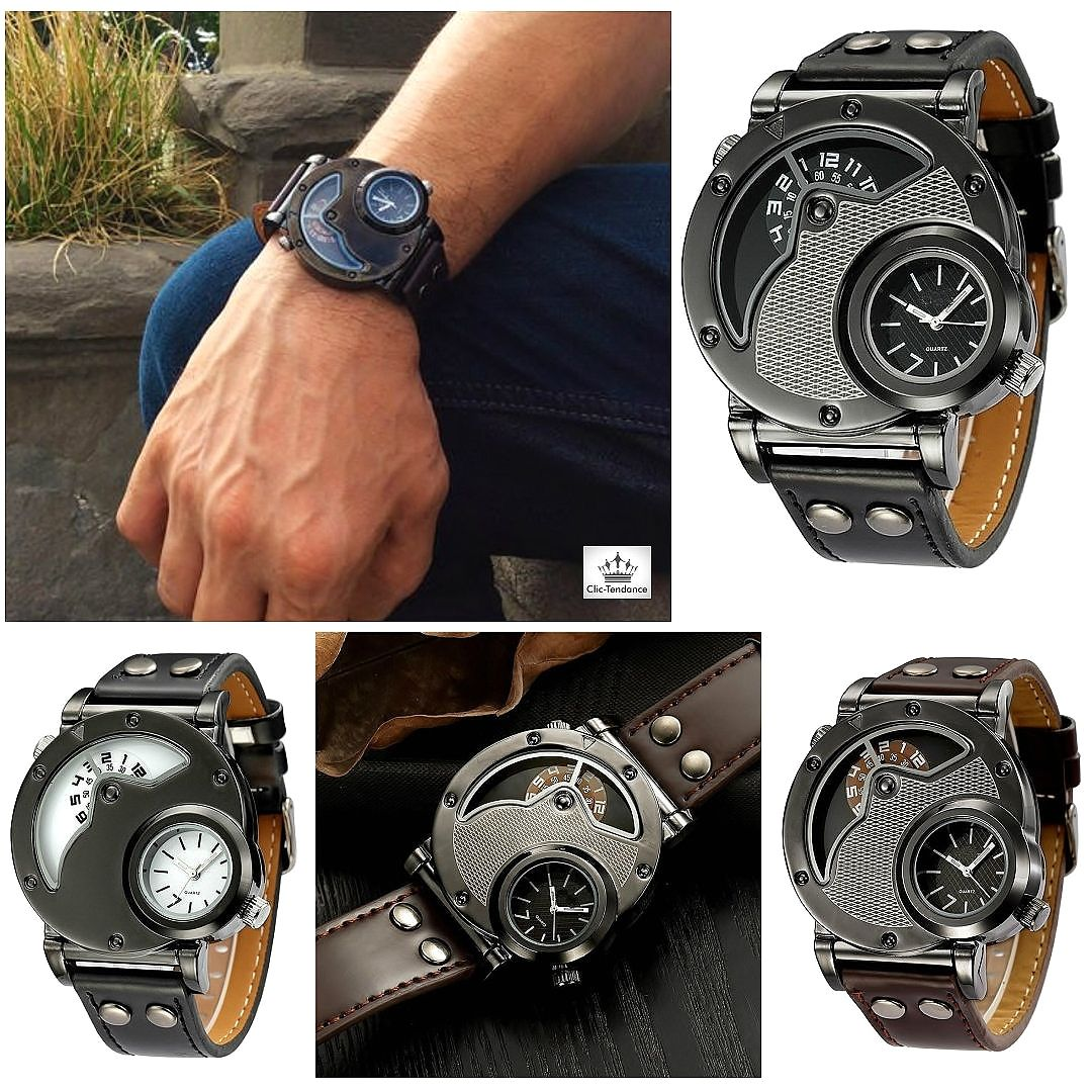 Montre Homme U.S Military Black Style Militaire US cette montre vous  séduira par son caractère trempé 9a8ef3e6ac84