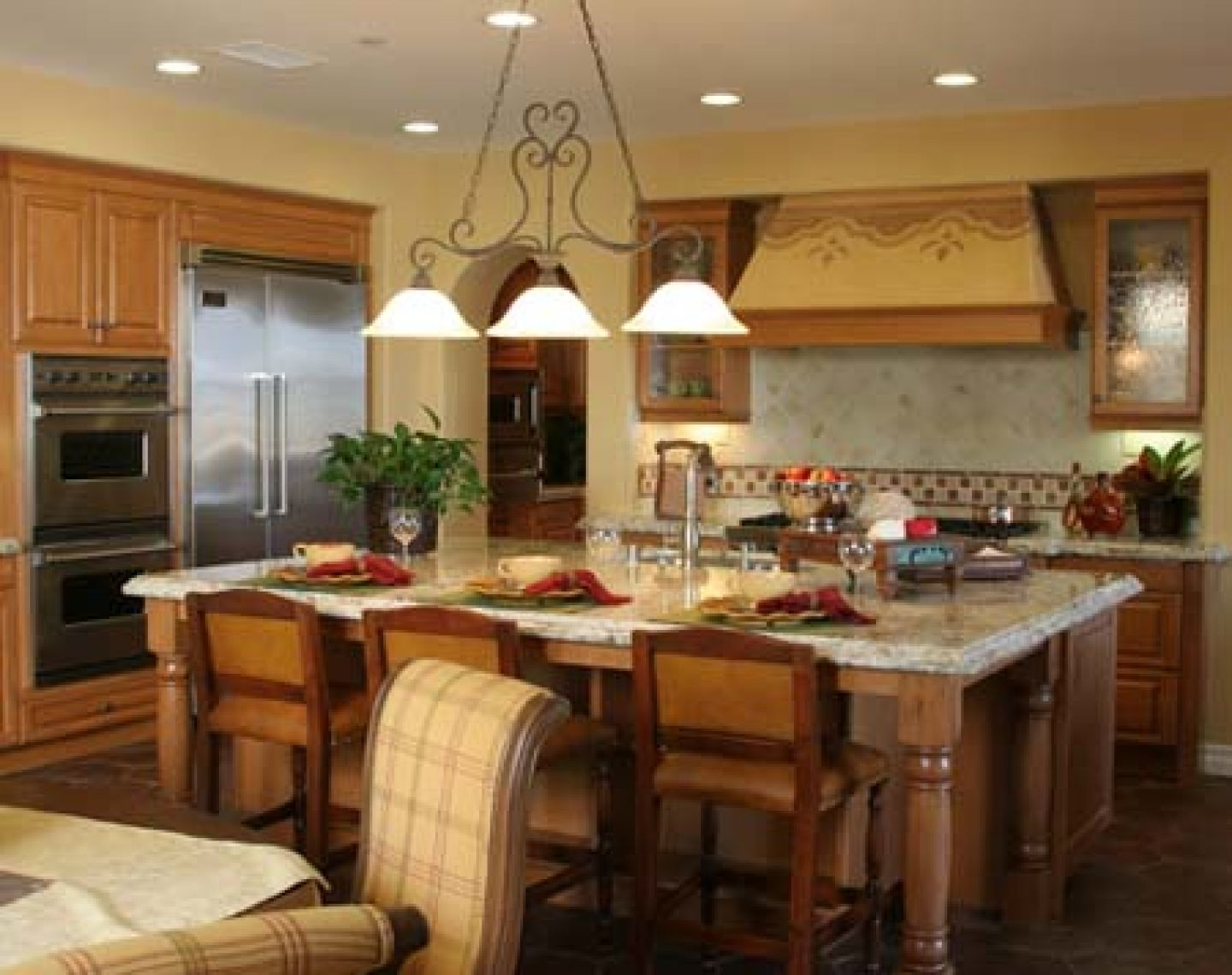 Small country kitchen designs country kitchen designs for Small country kitchen