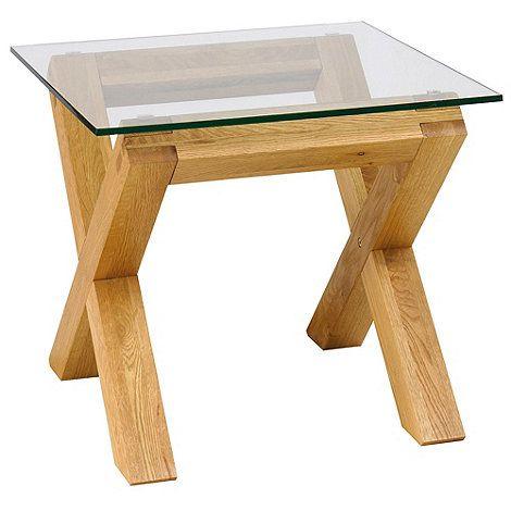 Debenhams light oak newport x leg glass lamp table at debenhams debenhams light oak newport x leg glass lamp table at debenhams aloadofball Image collections